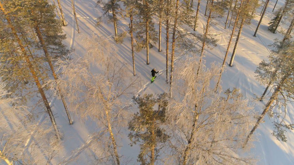 Evo Outdoors Finland, liukulumikenkäily